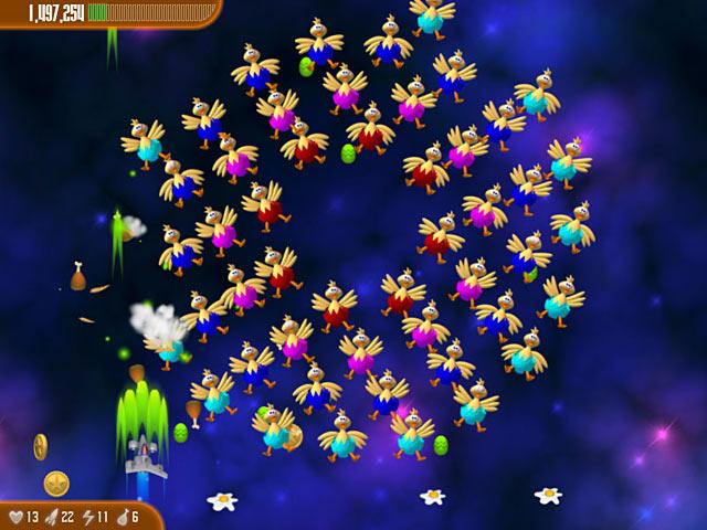Game screenshot 2 Chicken Invaders 3: Revenge of the Yolk Easter Edition