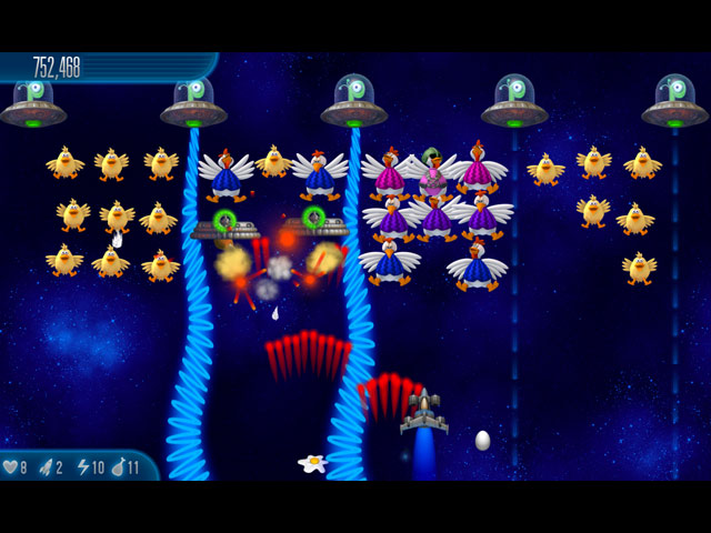 Game screenshot 3 Chicken Invaders 5: Cluck of the Dark Side