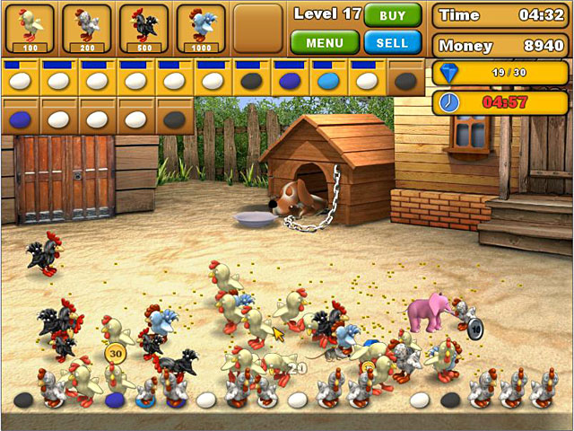 Game screenshot 1 Chicken Chase