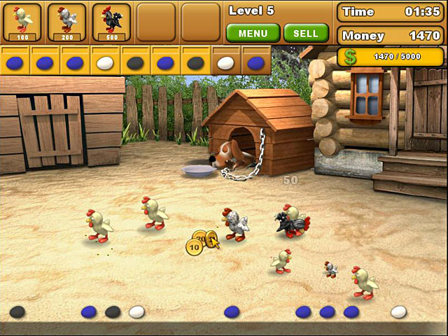 Game screenshot 3 Chicken Chase