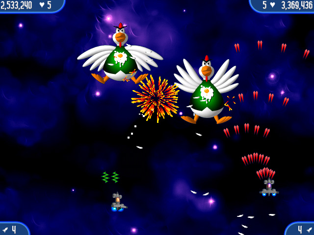 Game screenshot 1 Chicken Invaders 2