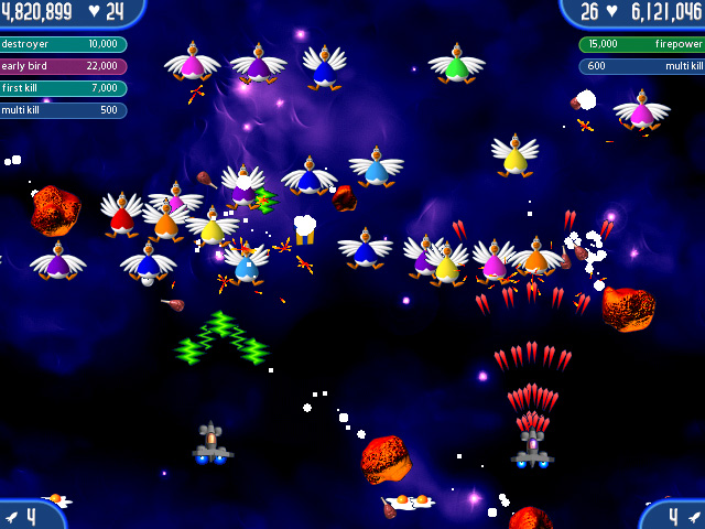 Game screenshot 2 Chicken Invaders 2