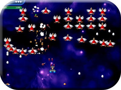 Game screenshot 3 Chicken Invaders 2