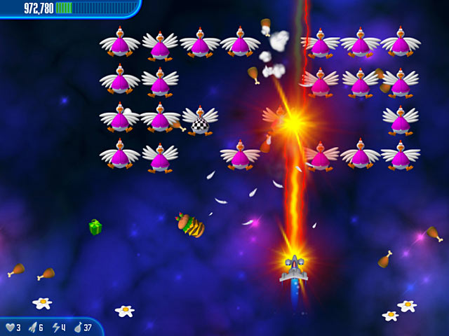 Game screenshot 2 Chicken Invaders 3