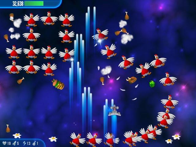 Game screenshot 2 Chicken Invaders 3 Christmas Edition