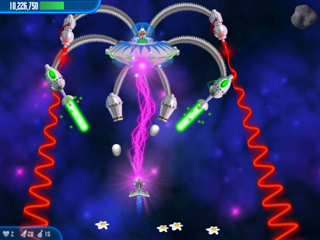 Game screenshot 3 Chicken Invaders 3 Christmas Edition