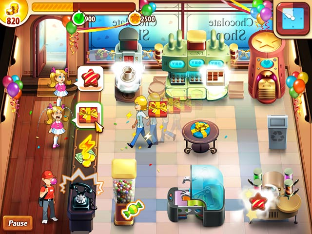 Game screenshot 1 Chocolate Shop Frenzy