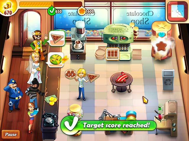 Game screenshot 3 Chocolate Shop Frenzy