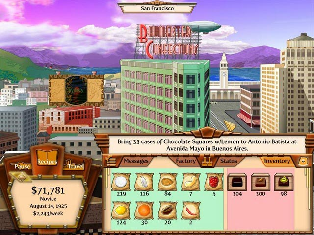 Game screenshot 1 Chocolatier 2: Secret Ingredients