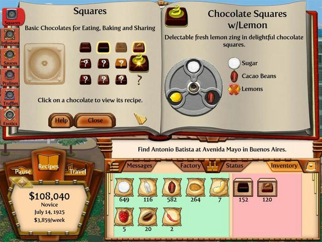 Game screenshot 2 Chocolatier 2: Secret Ingredients