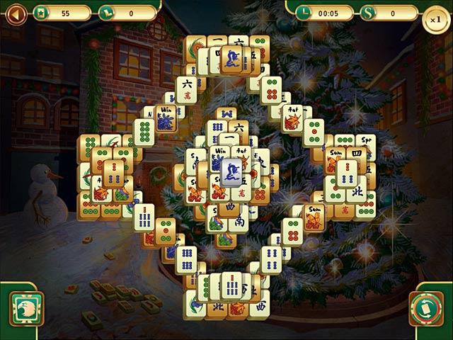 Christmas Mahjong > iPad, iPhone, Android, Mac & PC Game | Big Fish