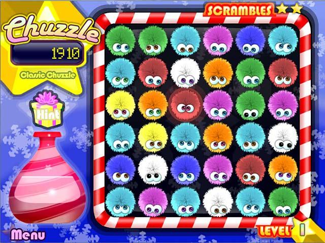 Game screenshot 1 Chuzzle: Christmas Edition