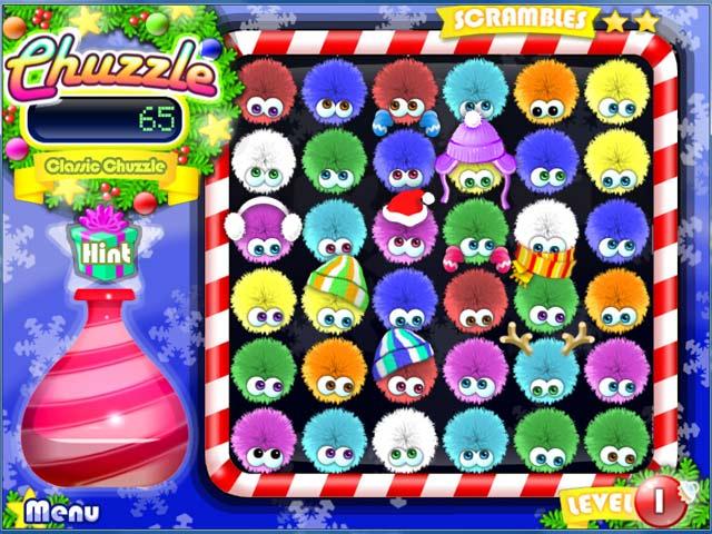 Game screenshot 2 Chuzzle: Christmas Edition