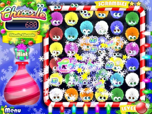 Game screenshot 3 Chuzzle: Christmas Edition
