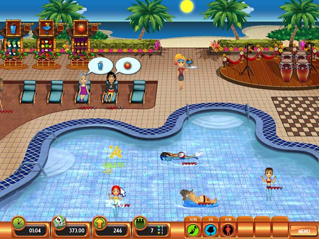 Game screenshot 2 Club Paradise