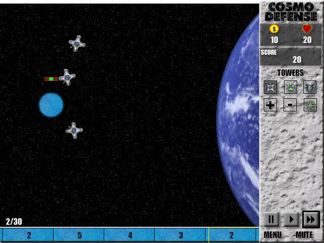 Screenshots Cosmo Defense -