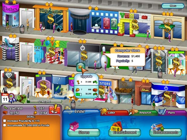Game screenshot 1 Create A Mall