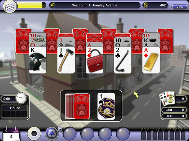 Game screenshot 3 Crime Solitaire