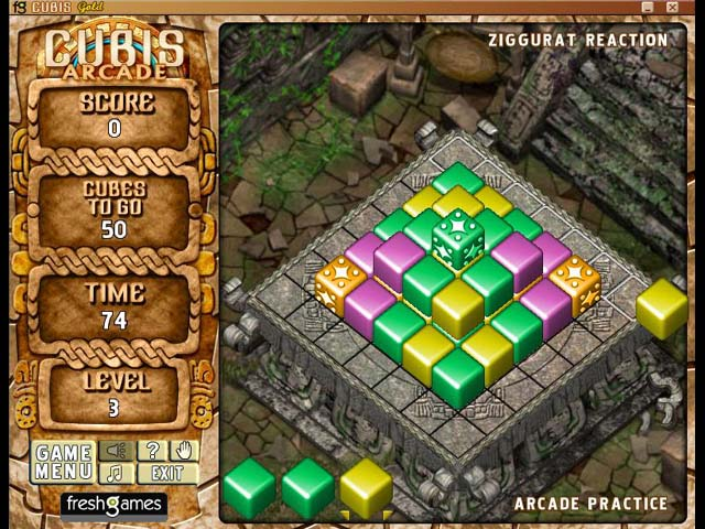 Spiele Screenshot 1 Cubis Gold