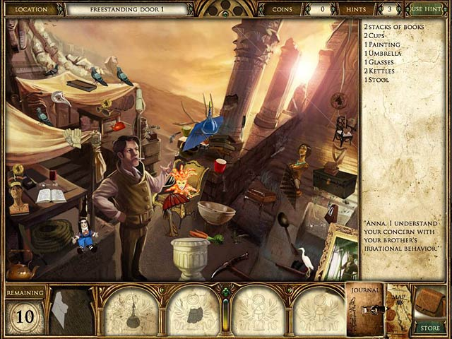 Curse of the Pharaoh: Napoleon's Secret – Mac Screenshot-3
