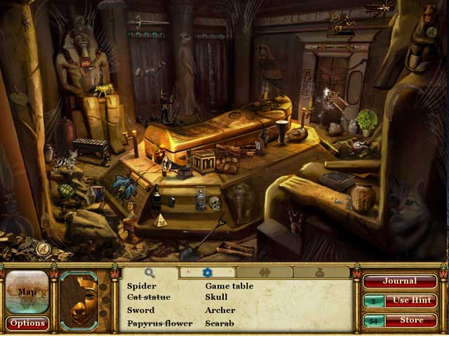 Game screenshot 2 Curse of the Pharaoh: Tears of Sekhmet