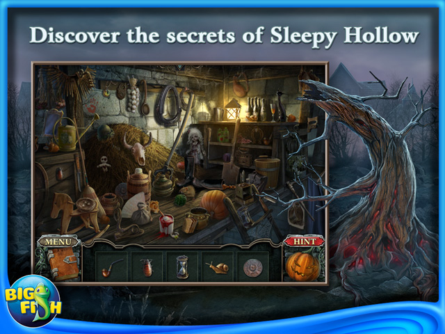Screenshot for Cursed Fates: The Headless Horseman Collector's Edition