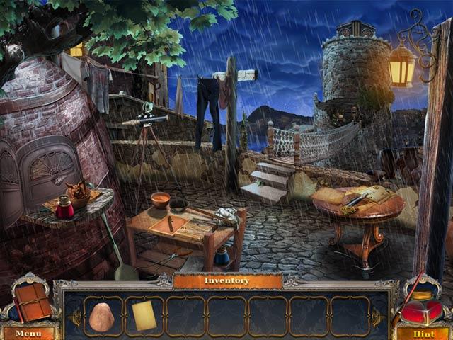 Game screenshot 1 Dark Canvas: A Brush With Death