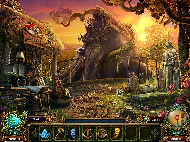 Game screenshot 2 Dark Parables: Jack and the Sky Kingdom Collector's Edition