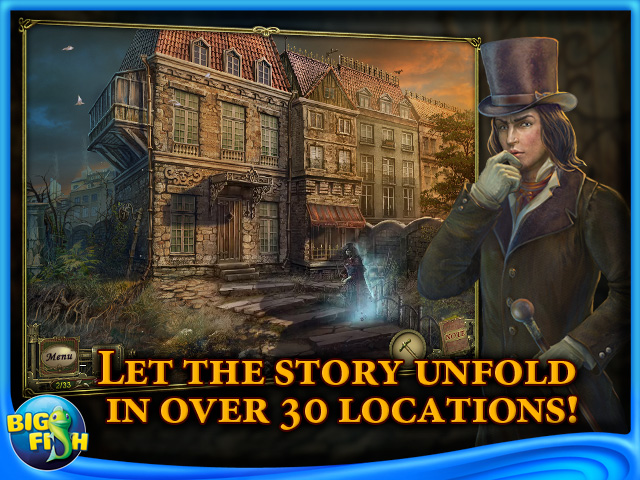 Screenshot for Dark Tales: Edgar Allan Poe's The Premature Burial Collector's Edition