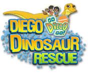 Feature screenshot game Diego Dinosaur Rescue