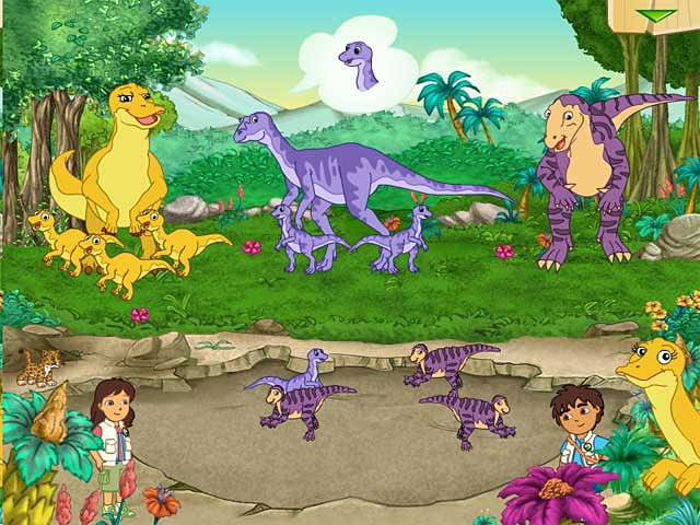 Game screenshot 1 Diego Dinosaur Rescue