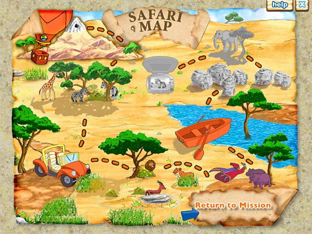 Game screenshot 1 Diego`s Safari Adventure