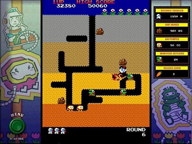 Game screenshot 2 Dig Dug