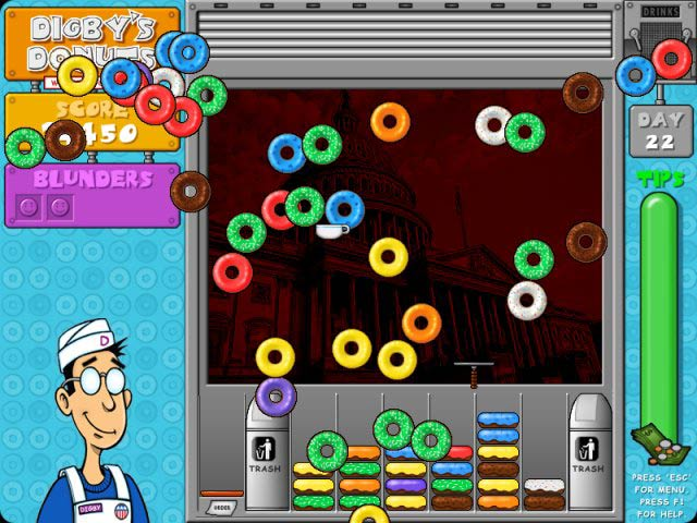 Spiele Screenshot 2 Digby`s Donuts