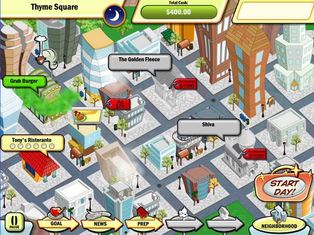 Game screenshot 1 Diner Town Tycoon