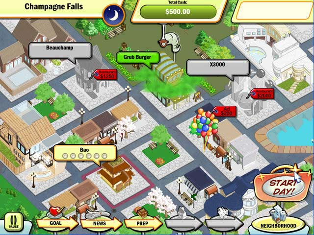 Game screenshot 2 Diner Town Tycoon