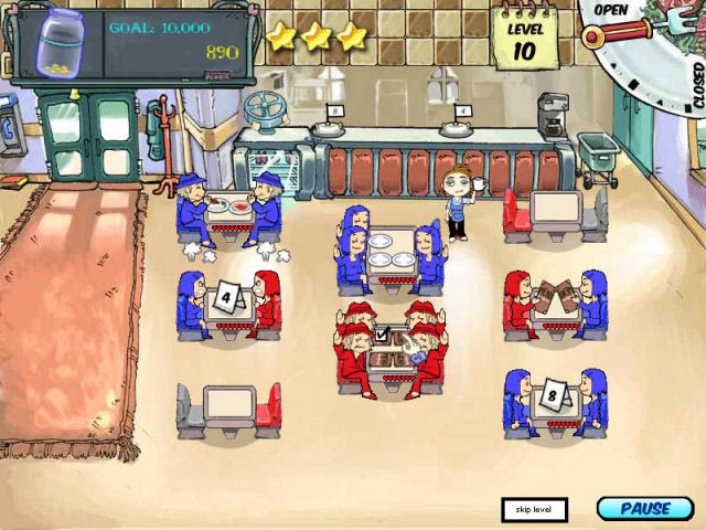 Diner Dash – Mac Screenshot-1