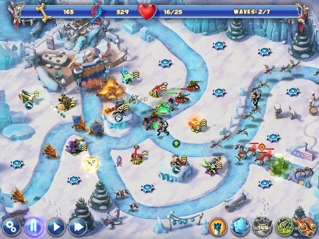 Game screenshot 1 Dino R-r-age Defense