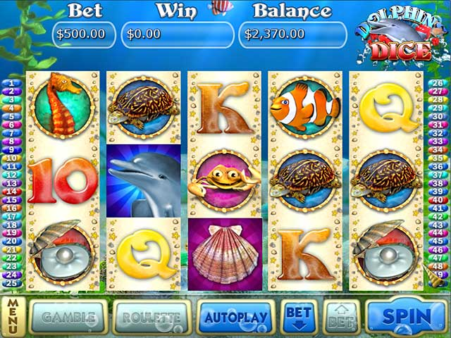 Dolphin Dice Slots  iPad, iPhone, Android, Mac & PC Game | Big Fish
