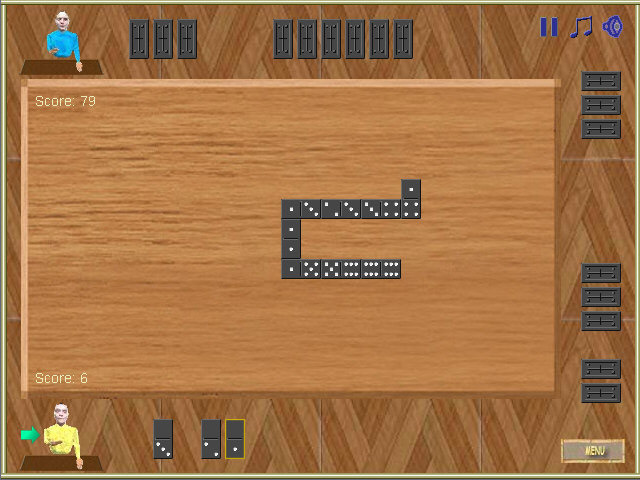 Screenshots Domino Ace -