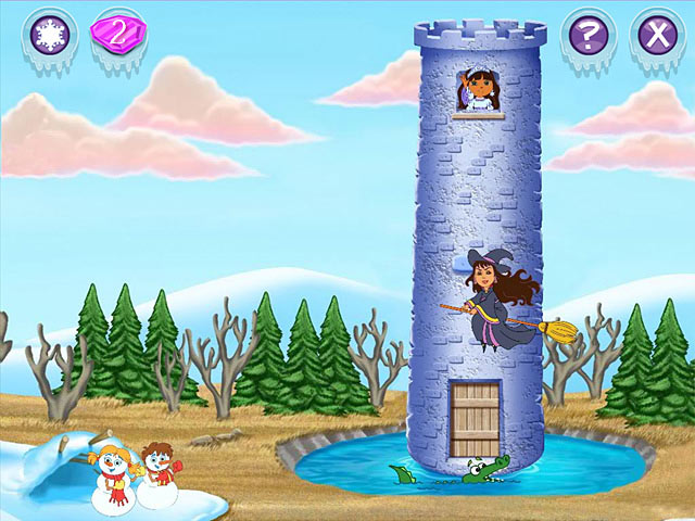 Dora Saves the Snow Princess &#8211; Mac Screenshot-1