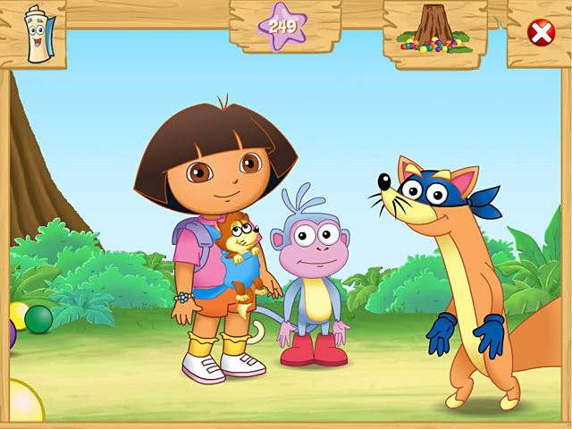 Dora the Explorer: Swiper&#8217;s Big Adventure! &#8211; Mac Screenshot-3