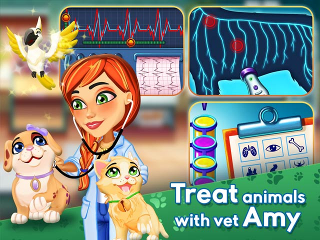 Dr. Cares: Amy's Pet Clinic Collector's Edition img