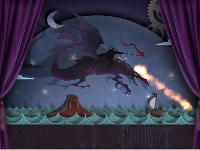 Game screenshot 3 Drawn: Dark Flight ®