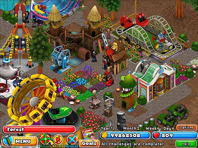Game screenshot 2 Dream Builder: Amusement Park