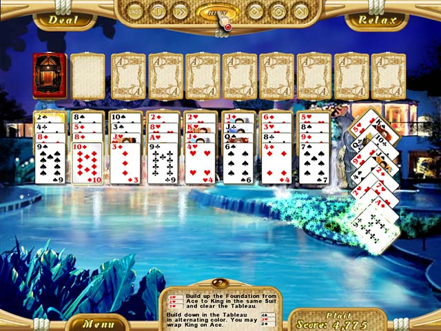 Game screenshot 2 Dream Vacation Solitaire