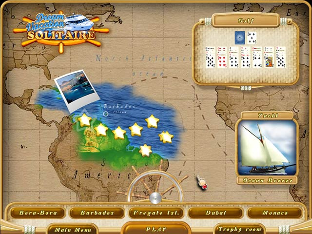 Game screenshot 3 Dream Vacation Solitaire