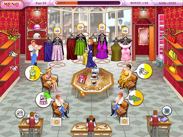 Game screenshot 1 Dress Up Rush