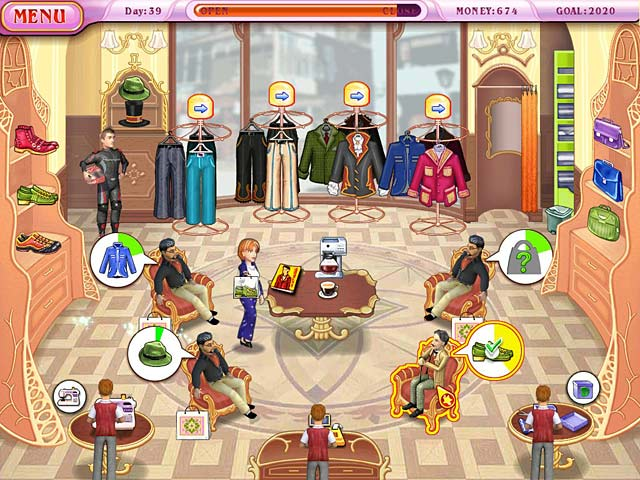 Game screenshot 3 Dress Up Rush