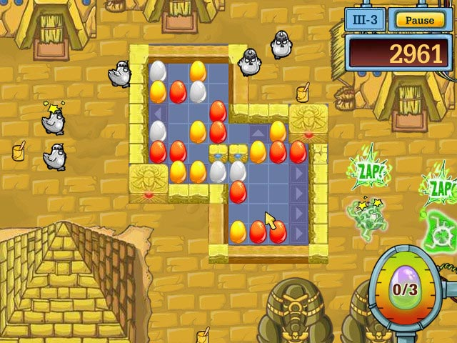 Game screenshot 1 Egg vs. Chicken